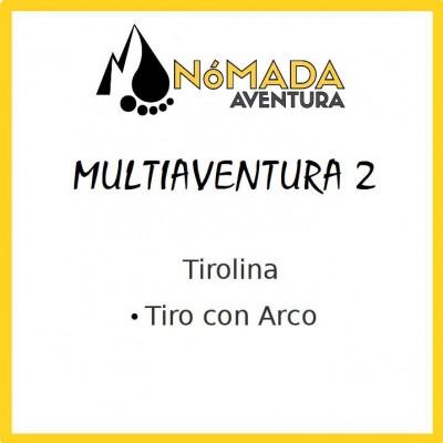 Multiaventura-2 Tirolina+Arco