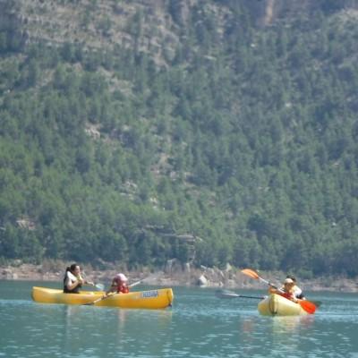 Ruta Canoa Embalse