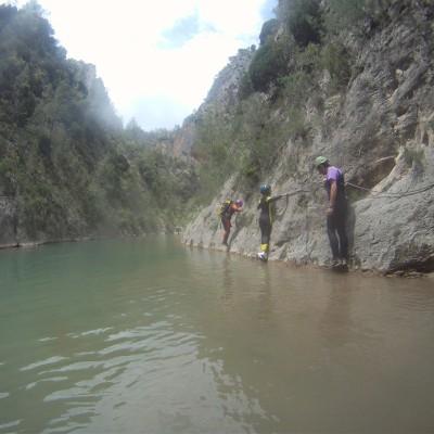 Trekking con rápel